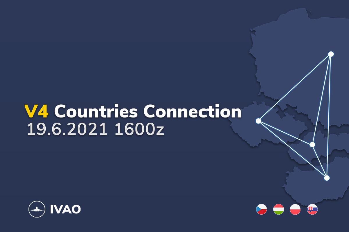 [HQ+CZ+SK+PL+HU] V4 Countries Connection